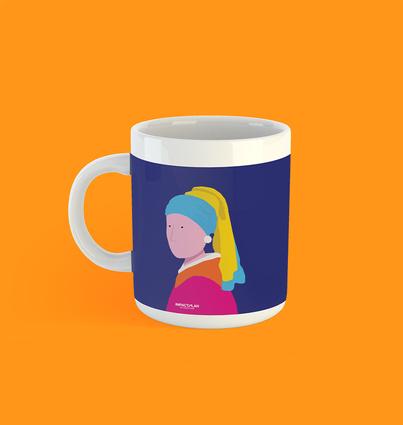 """Mug """"Girl with a Pearl Earring"""""""