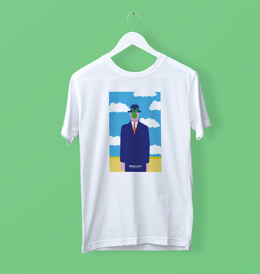 """T-shirt """"The Son of Man"""""""
