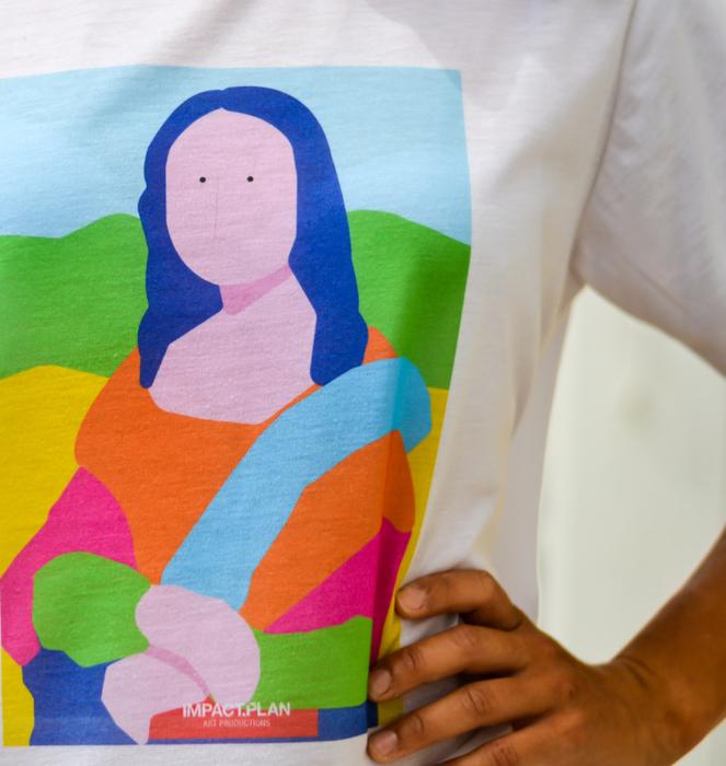 """T-shirt """"Mona Lisa"""" 5"""