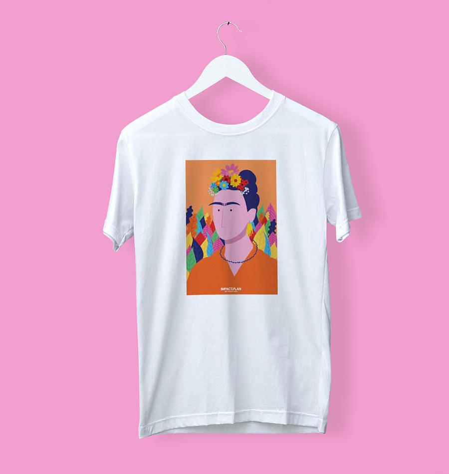 """T-shirt """"Frida Kahlo"""""""