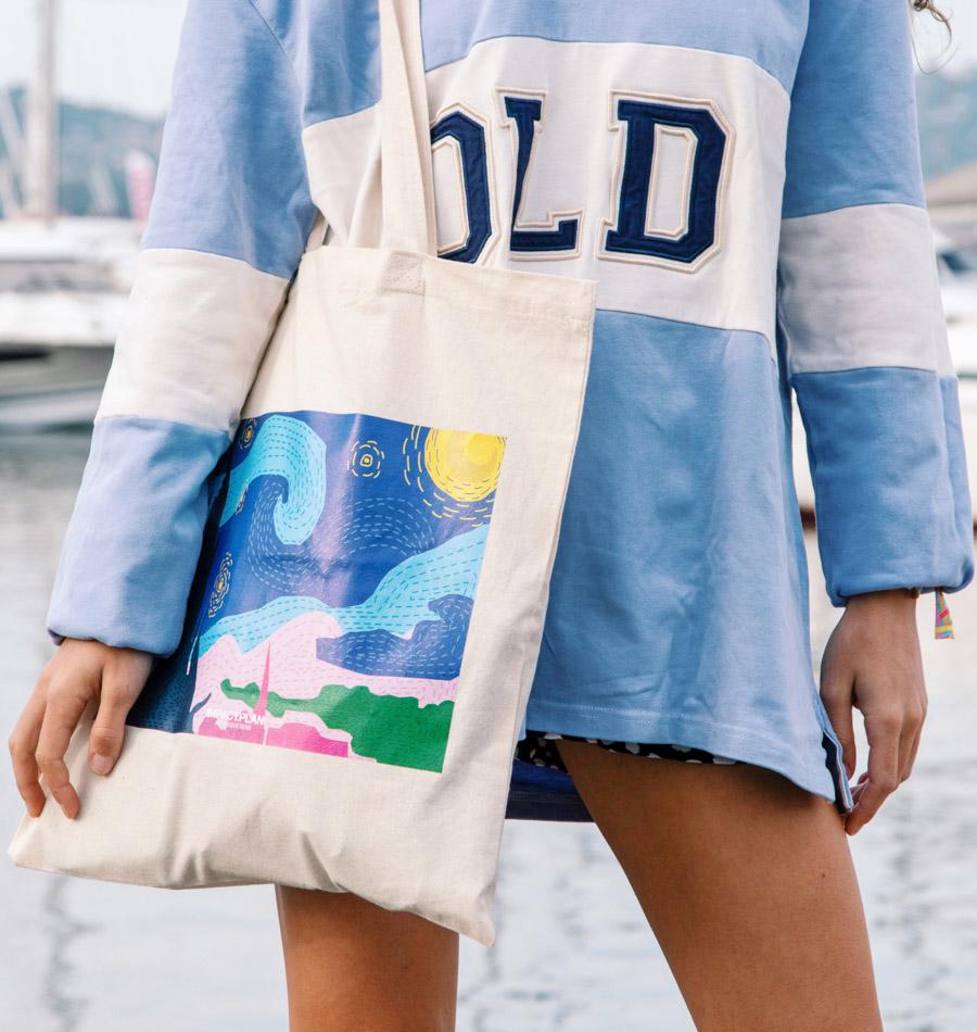 "Bag ""Starry Night"""