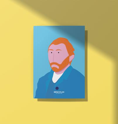"""Affiche """"Van Gogh"""""""