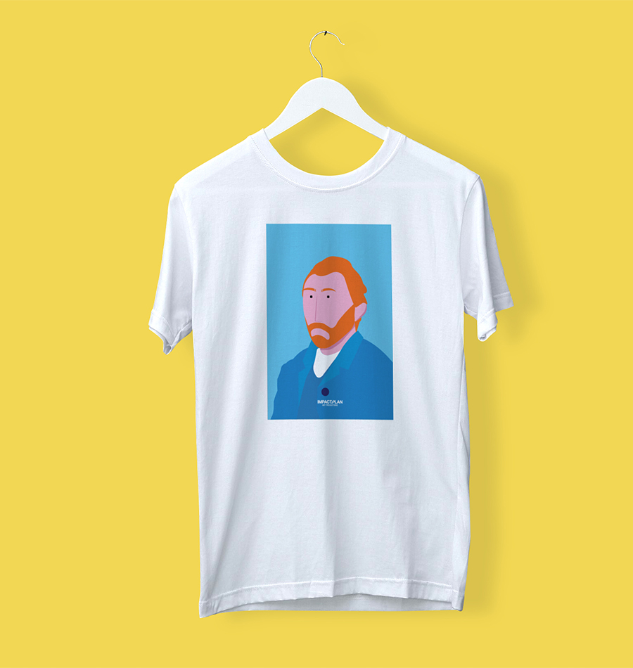 "T-shirt ""Van Gogh"""