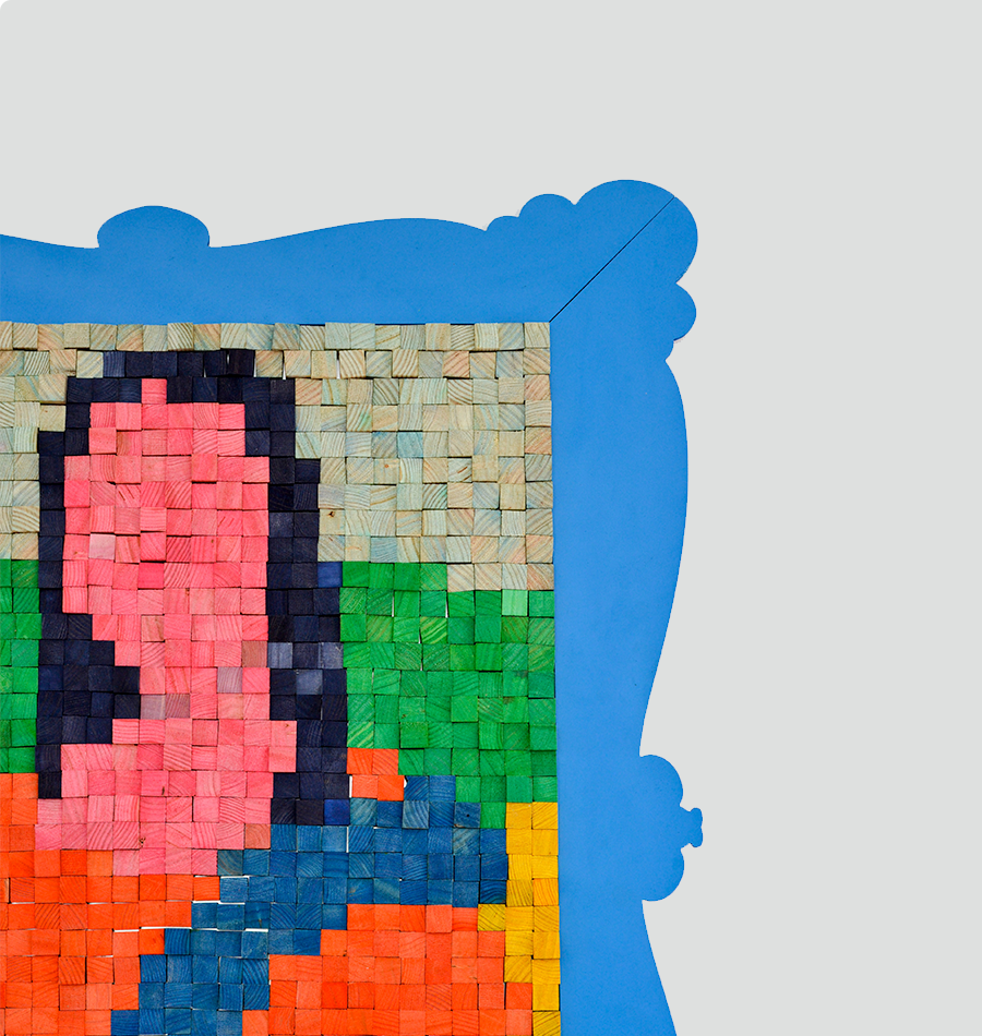 """Mona Lisa"" Magnetic Puzzle"
