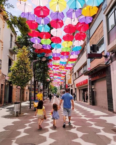 Umbrella Sky Project - Rubí'21